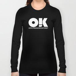 OK plakat - Det beste kontoret Long Sleeve T-shirt