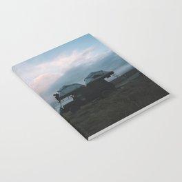 Mountain Camp, NZ Notebook