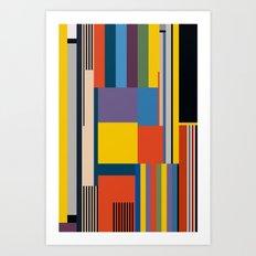 BAUHAUS RISING Art Print