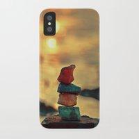 zen iPhone & iPod Cases featuring Zen by teddynash
