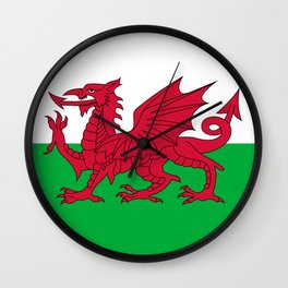 Flag of Wales - Welsh Flag Wall Clock