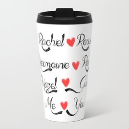 Valentine's Romance: books-tv Travel Mug