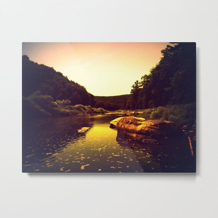 Let the Creek Take You Away Metal Print