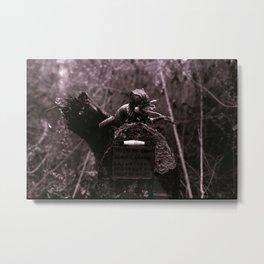 Folly of Men Metal Print