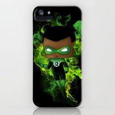 Chibi Green Lantern Slim Case iPhone (5, 5s)