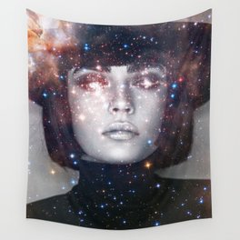 Shes a witch girl Wall Tapestry