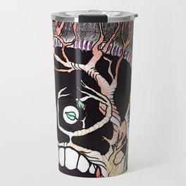 Nature yourself Tree Skull Travel Mug