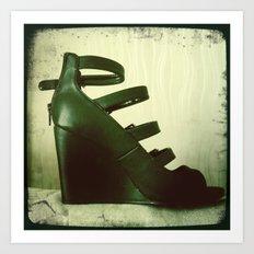 Shoes Design ! Art Print