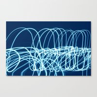 forever young Canvas Prints featuring forever young by Bunny Noir