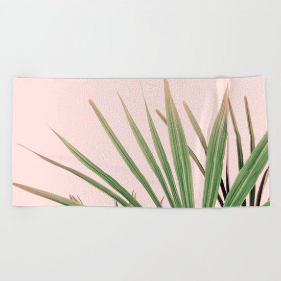 Palms blossom Beach Towel
