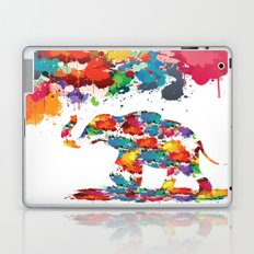 Paint elephant Laptop & iPad Skin