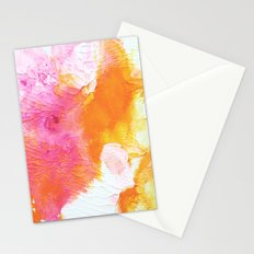 Orange Wings Stationery Cards