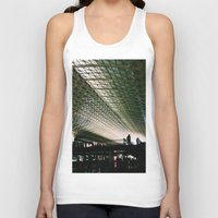 washington dc Tank Tops featuring Union Station, Washington DC by Mt Zion Press