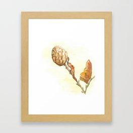 Autumn crisps Framed Art Print