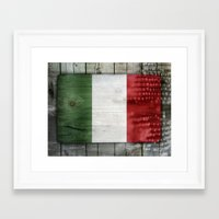italy Framed Art Prints featuring Italy by Arken25