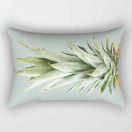 green pineapple Rectangular Pillow