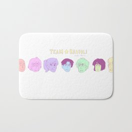 Team Ravioli Bath Mat
