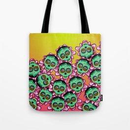 Cute Skulls Franky Tote Bag