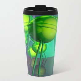 Toxic Lollipop Metal Travel Mug