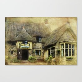 The Waggon and Horses Canvas Print