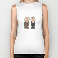 muppets Biker Tanks featuring Statler & Waldorf – The Muppets by Big Purple Glasses