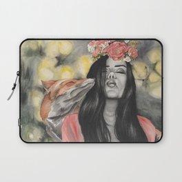 Fox & Flowers Laptop Sleeve