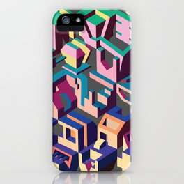 Psychedelic Dissection iPhone Case
