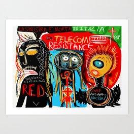 Ex-telecom Art Print