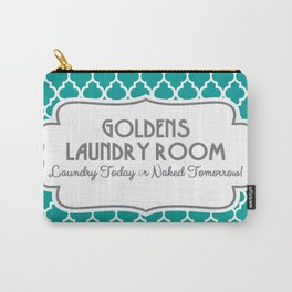 Goldens Laundry Room Humor Carry-All Pouch