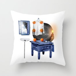 HOW (Totem of the Owl) Throw Pillow