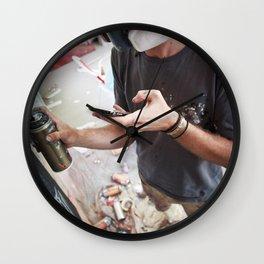 Matt Adnate, Berlin 2011 Wall Clock