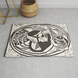 """MORNING COFFEE"" Rug"