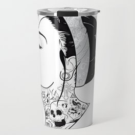 TATTOO--Girl Travel Mug