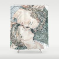 fault in our stars Shower Curtains featuring THE FAULT IN OUR STARS by Melissa Bather