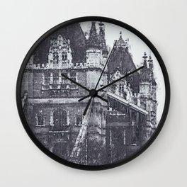 London, Tower Bridge Wall Clock