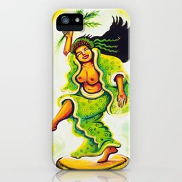 Uzume Goddess of Laughter & Mirth iPhone Case
