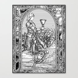 Knight of Cups Canvas Print