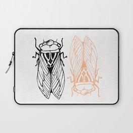 Cicadas on the Scribbly Gum Laptop Sleeve