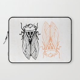 Cicadas on the Scribbly Gum Laptop Sleeve