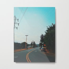 Suburbs Of Eugene, Oregon Metal Print