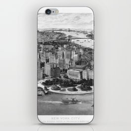Vintage New York 1903 iPhone Skin