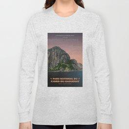 Parc National du Fjord-du-Saguenay Long Sleeve T-shirt