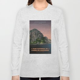 Parc National du Fjord-du-Saguenay Long Sleeve T-shirt