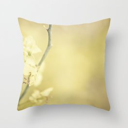 April Throw Pillow