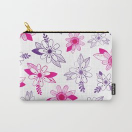 Daisy Ink Illustration Carry-All Pouch