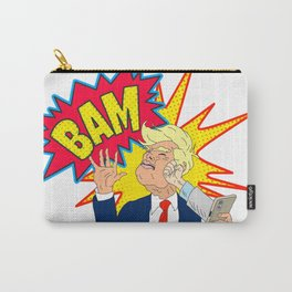 Stop Tweeting Trump Carry-All Pouch