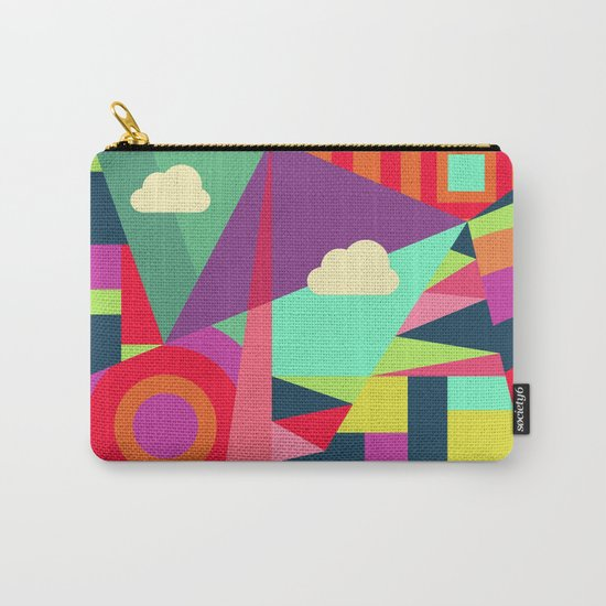 Geometric#7 Carry-All Pouch