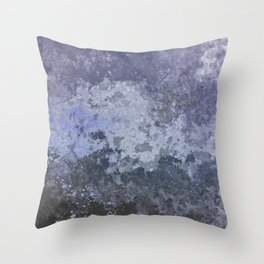 Rough Water Throw Pillow