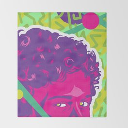 SCREECH :: Memphis Design :: Saved By the Bell Series Throw Blanket