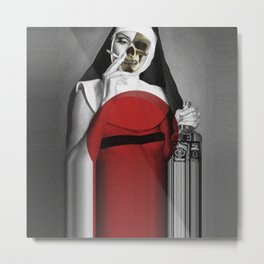 Dark Side of Heaven Metal Print